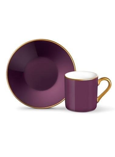 Madame Coco Phillipa 4'lü Kahve Fincan Takımı Mürdüm
